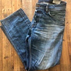 Diesel waykee jeans 31 waist 30 length